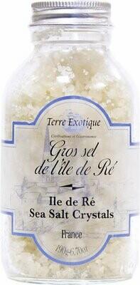 Ile De Re Harmaa Kristallisuola (Ranska) | Ile De Re Gray Salt Crystals | TERRE EXOTIQUE | 190g