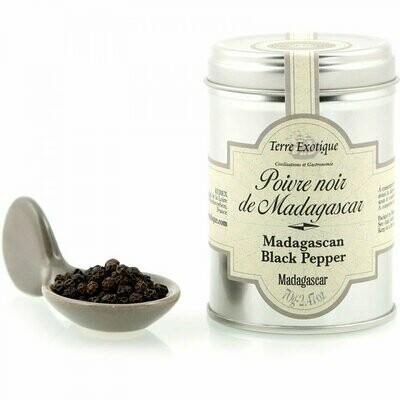 Madagaskarin Mustapippuri | Madagascar Black Pepper | TERRE EXOTIQUE | 70g