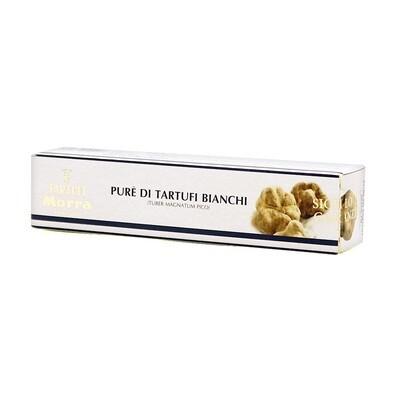 Valkotryffelitahna (Tuber Magnatum Pico) 71% | White Truffle Pate | TARTUFI MORRA | 25 G