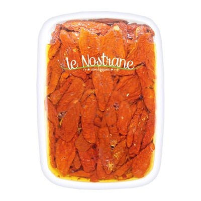 Marinoidut Aurinkokuivatut Tomaatit Öljyssä   Sundried Tomatoes Pickled In Oil   LE NOSTRANEN   1 KG