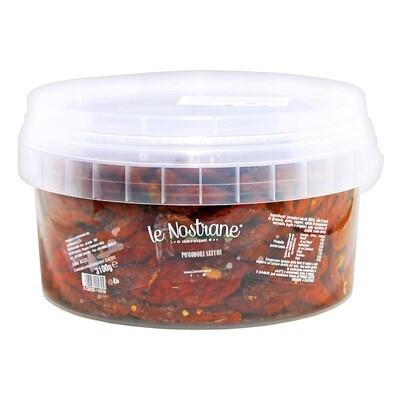 Marinoidut Aurinkokuivatut Tomaatit Öljyssä   Sundried Tomatoes Pickled In Oil   LE NOSTRANEN   3 KG