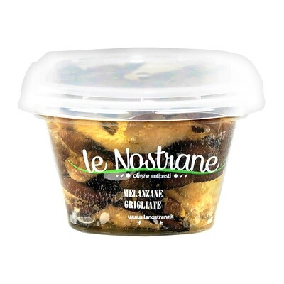 Grillattuja Munakoisoja Öljyssä   Grilled Aubergines   LE NOSTRANE   200g