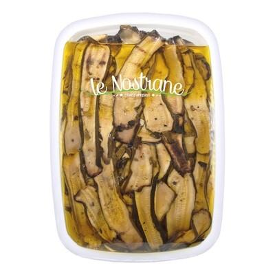 Grillattuja Kesäkurpitsoja Öljyssä   Grilled Zucchini   LE NOSTRANE   1 KG