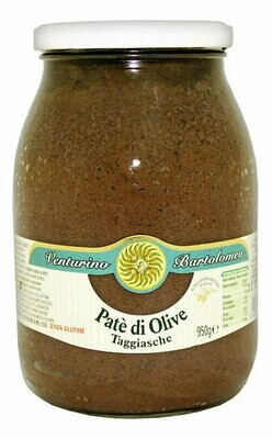 Taggiasca Oliivitahna   Taggiasca Olives Pate   VENTURINO   950g