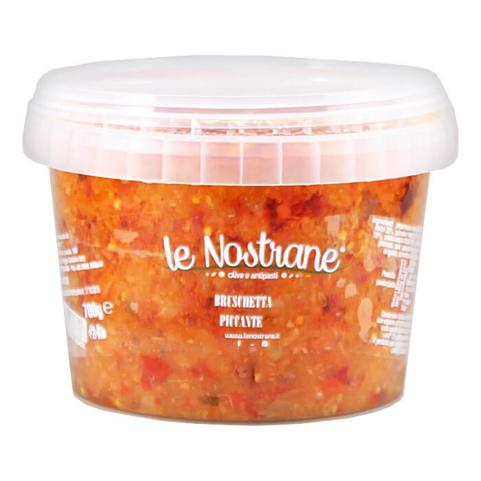 Sekoitis Vihanneksista: Mausteinen Bruschetta   Hot Bruschetta   LE NOSTRANE   700g