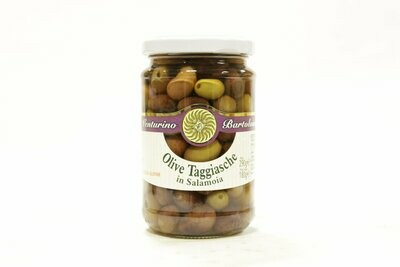 Kivelliset Oliivit Taggiasca Suolavedessä   Taggiasca Whole Olives In Brine   VENTURINO   290 G