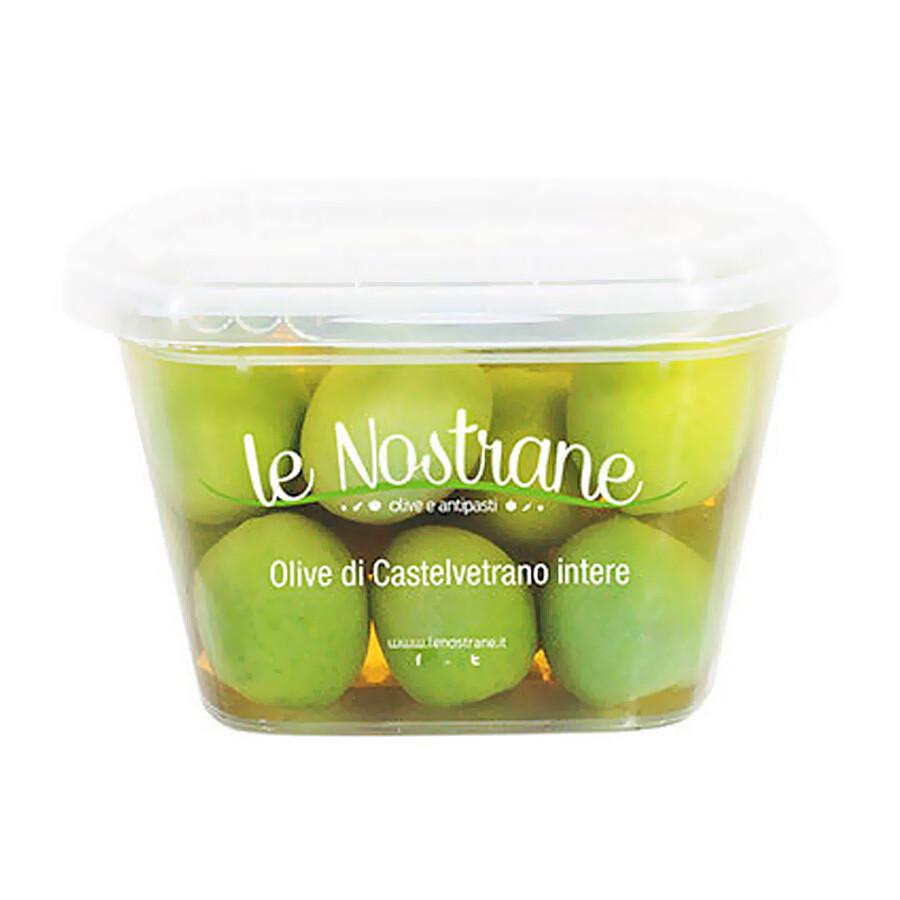 Castelvetrano Kivelliset Oliivit | Castelvetrano Whole Olives | LE NOSTRANEN | 200g
