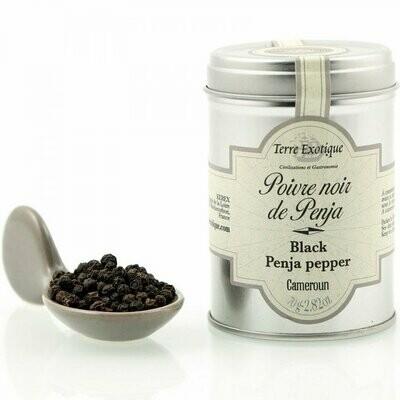 Penja Mustapippuri (Kamerun) | Penja Black Pepper | TERRE EXOTIQUE | 80g