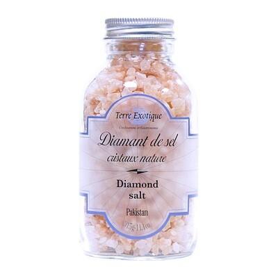 Himalajan Vaaleanpunainen Kristallisuola (Pakistan) | Himalayan Pink Salt Cristals | TERRE EXOTIQUE | 315g