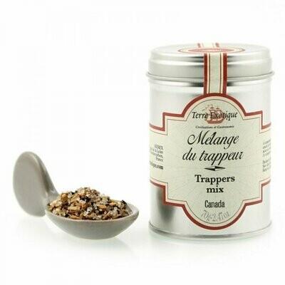 Turkismetsästäjän Mausteseos (Kanada) | Trapper`S Spice Blend | TERRE EXOTIQUE | 70g