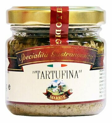 Tartufino Sienet & Mustatryffelikastike | Tartufino Mushrooms And Black Truffle Sauce | MARIO F. | 80 G