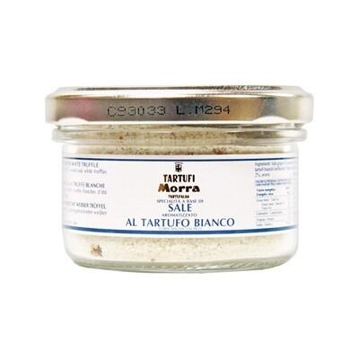 Guérande Merisuola Valkotryffeleillä | Grey Guérande Salt With White Truffle | TARTUFI MORRA | 100 G