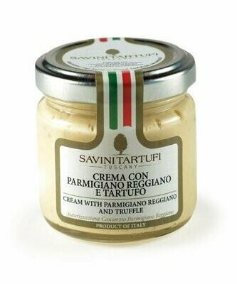 Tahna Parmigiano Reggiano Ja Bianchetto-Tryffelit | Cream With Parmigiano & Truffle | SAVINI TARTUFI | 90 G
