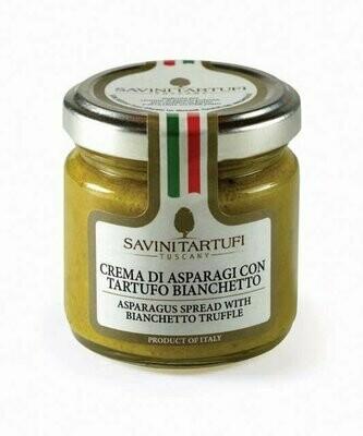 Parsalevite Bianchetto-Tryffeleillä | Asparagus Spread With Bianchetto Truffle | SAVINI TARTUFI | 90 G