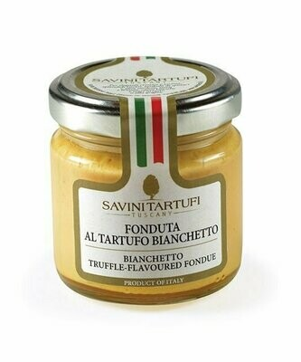 Fondue Bianchetto-Tryffeleistä | Fondue With Bianchetto Truffle | SAVINI TARTUFI | 90 G