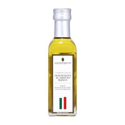 Valkotryffeliöljy | White Truffle Flavoured Olive Oil | SAVINI TARTUFI | 100 ML