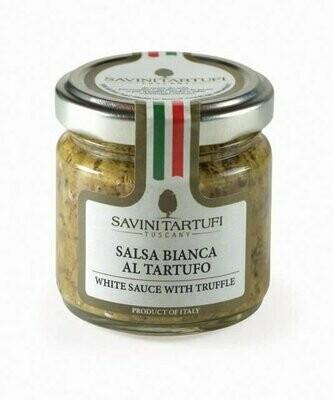 Valkokastike Tryffeleillä Tuber Borchii Vitt.) 3% | White Sauce With Truffle | SAVINI TARTUFI | 90 G
