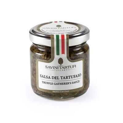 Tryffelinkerääjän Kastike (Tuber Aestivum Vitt.) 3% | Truffle Gatherer'S Sauce | SAVINI TARTUFI | 90 G