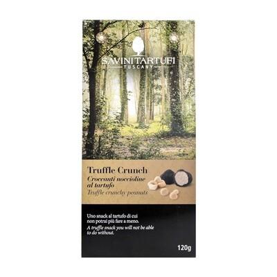 Suolaisia Pähkinöitä Mustatryffelin Maulla | Truffle Crunchy Peanuts | SAVINI TARTUFI | 120g