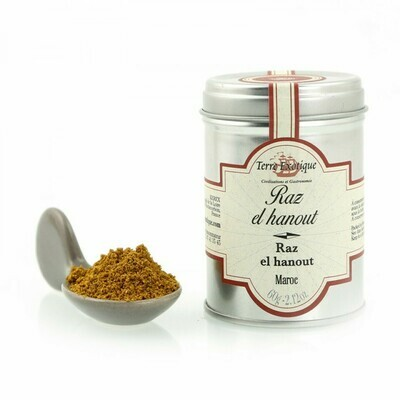 Maustesekoitus Raz El Hanout (Marocco) | Raz El Hanout Spice Blend | TERRE EXOTIQUE | 60g