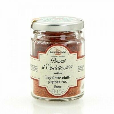 Espelette Chilipippurijauhe (D.O.P.) | Espelette Chilli Pepper Powder | TERRE EXOTIQUE | 40g