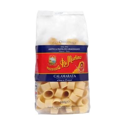 Alkuperäinen Kuviopasta Calamarata | Original Shapes Pasta | DI MARTINO | 500 G