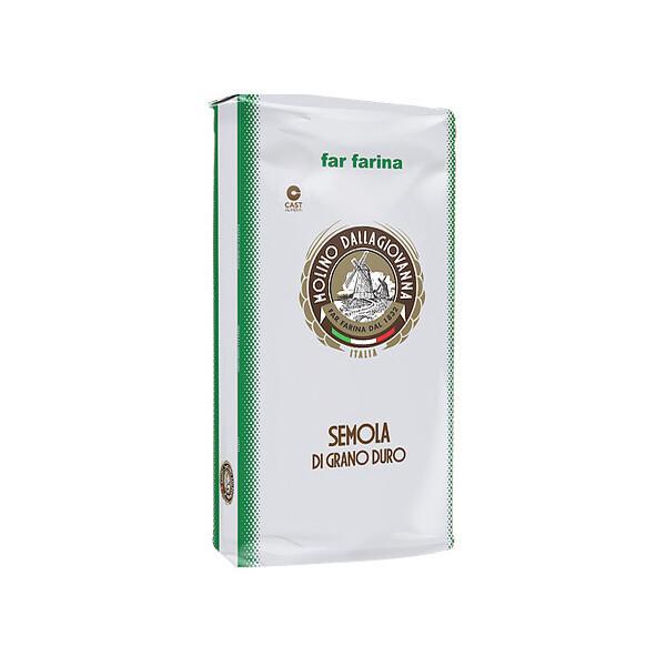 Durumvehnä Semola Extra Keltainen +B > 28 | Durum Wheat Semola Extra | MOLINO DALLAGIOVANNA | 5 KG