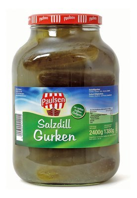 Suolakurkkuja | Salted Cucumbers | ALFRED PAULSEN | 2650 ML
