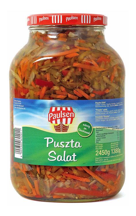 Pustan Salaatti (Marinoitu Vihannessalaatti) | Puszta Salad (Pickled Vegetables) | ALFRED PAULSEN | 2650 ML
