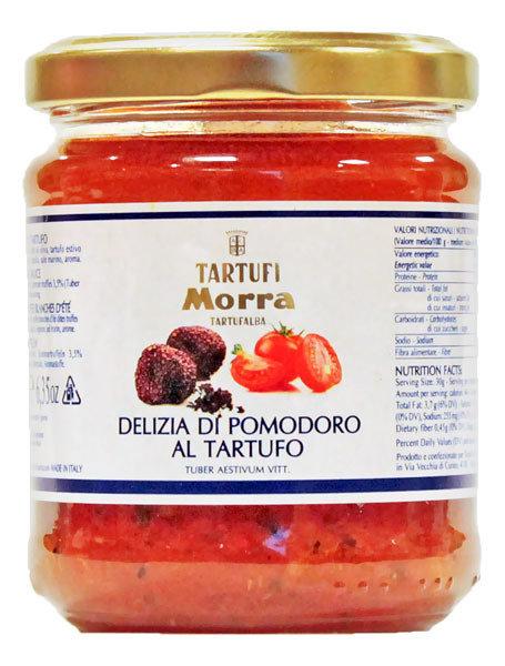 Tomaatti- Ja Mustatryffelikastike | Tomato And Black Truffle Sauce | TARTUFI MORRA | 180 G