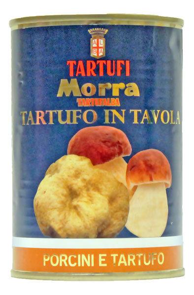 Tatti & Tryffelitahna | Porcini And White Truffle Cream | TARTUFI MORRA | 370 G