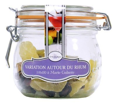 BLEND OF FRUITS & SPICES FOR SPICED RUM JAR 150G / 500ML