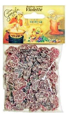 Orvokilla Maustetut Karkit | Violet Flavoured Candies | LUCIEN GEORGELIN | 150 G
