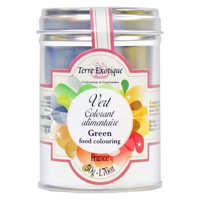 GREEN (CHLOROPHYLL) COLOURING AGENT METAL TIN 50 G