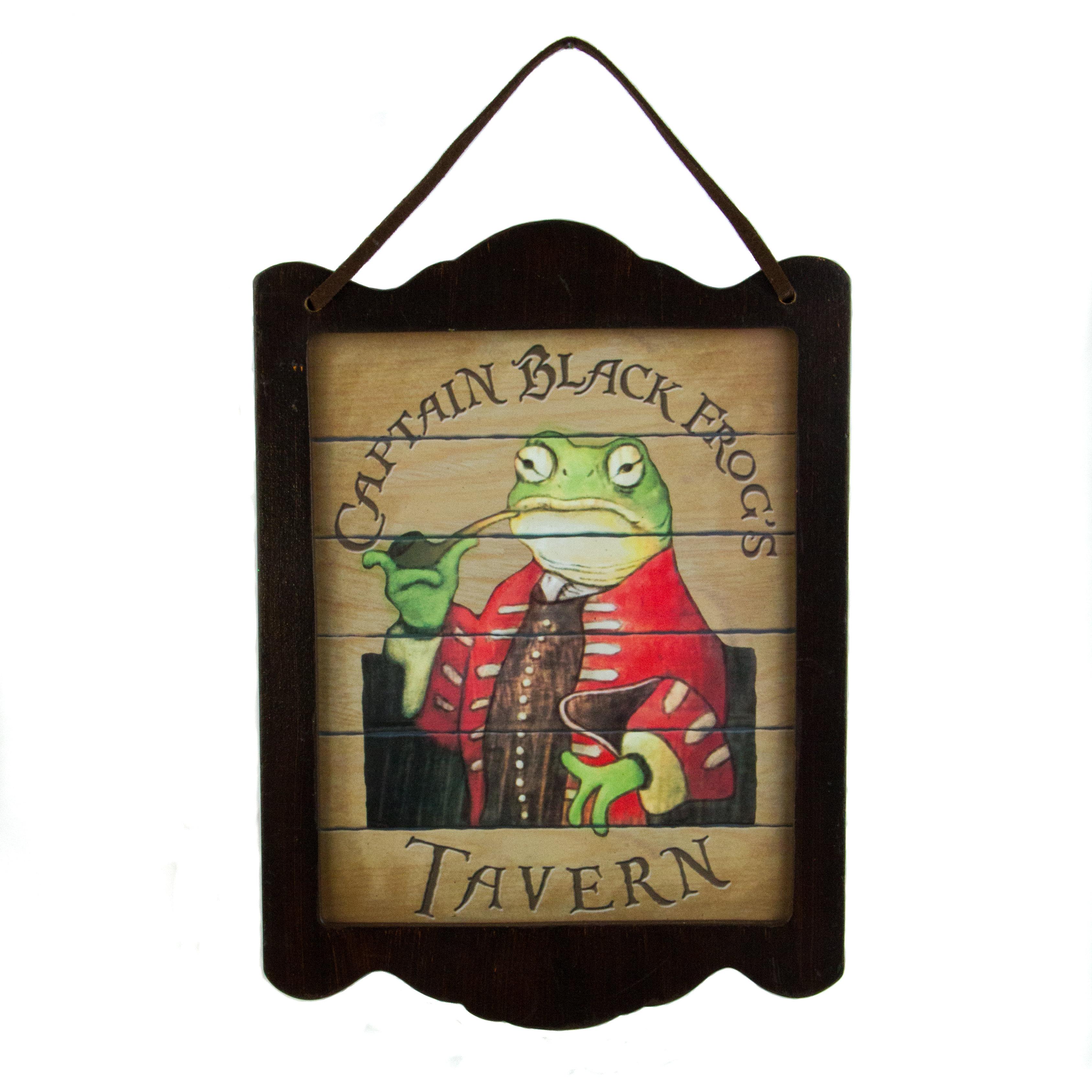 Frog Tavern Plaque BBGR5FMHYGYHE