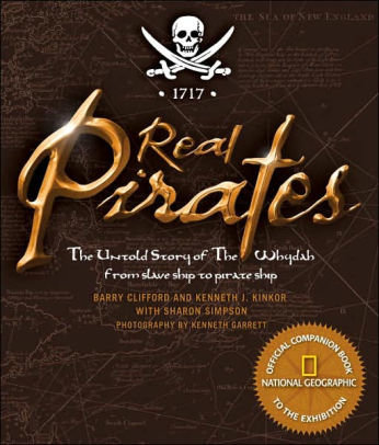 Real Pirates Book Brown W5CHWBHRNZRVA