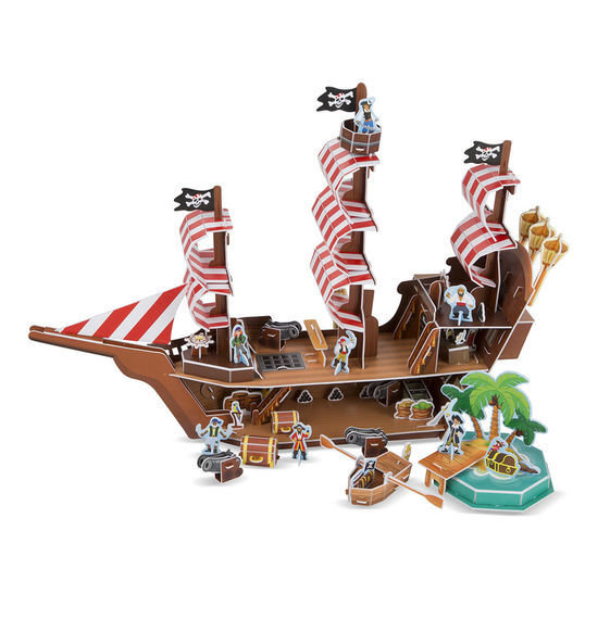 Pirate Ship 3D Puzzle SXV7F4EVYT7V2