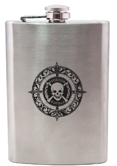 Stainless Steel Expedition Whydah Flask 00001