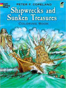 Shipwrecks And Sunken Treasure Coloring Book 2MYRGK5WMCDF0