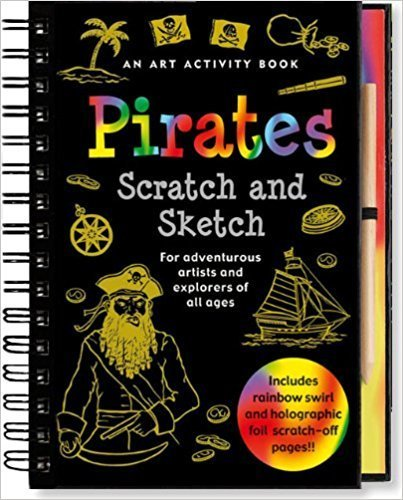 Scratch And Sketch Pirates DMDQ5FEQ34KX2