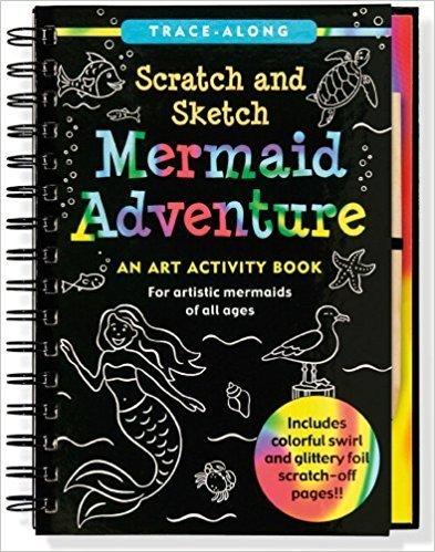 Scratch And Sketch Mermaid Adventure Book S6KWFM8ZR3BNA