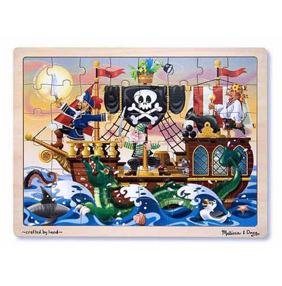Wooden Jigsaw Puzzle Pirate Adventure M802XAXRQ295E