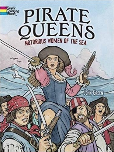 Pirate Queens Coloring Book R7A31BBEV3QNP