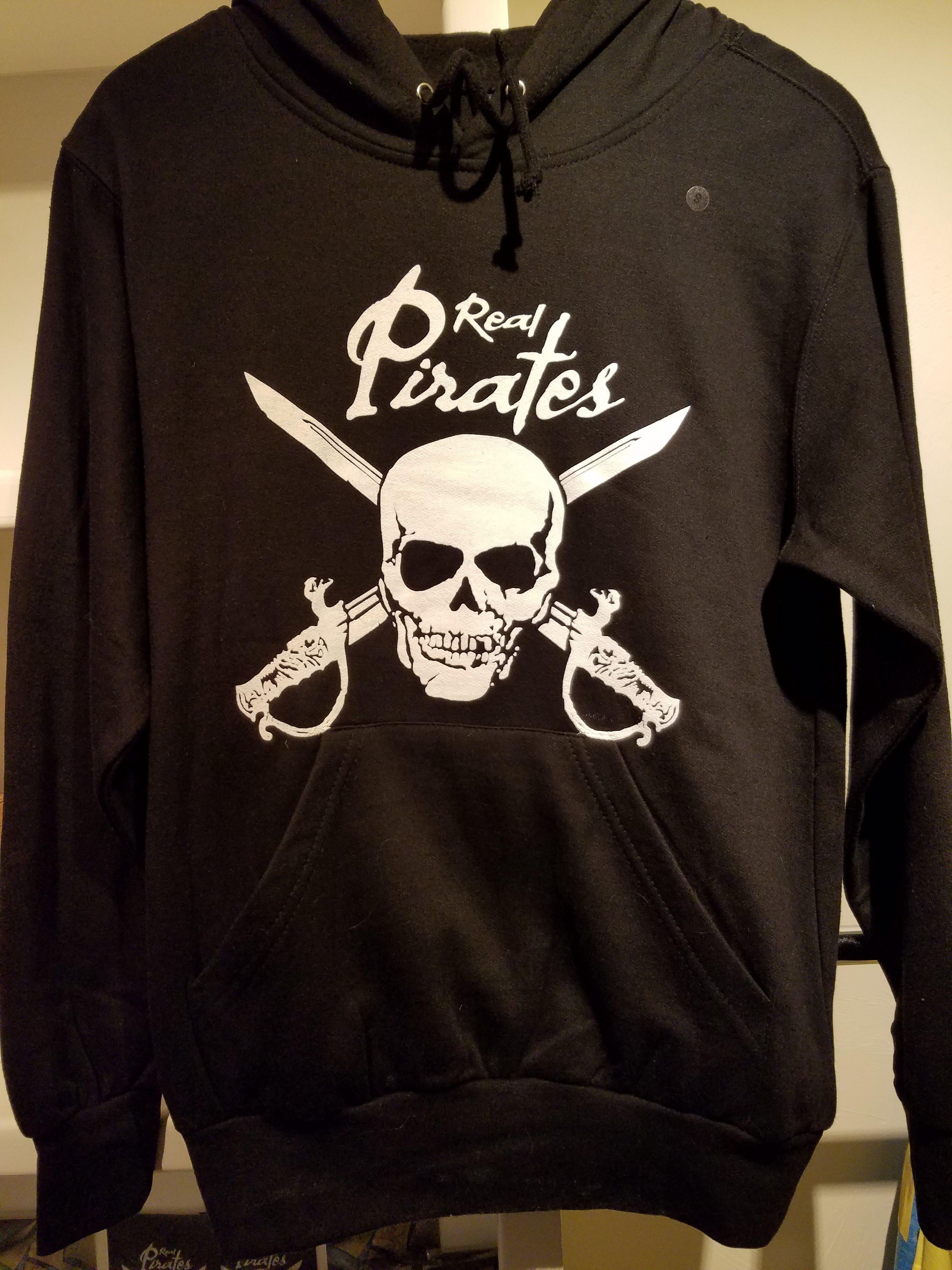 Real Pirates Hooded Sweatshirt C7881M89WEDNR
