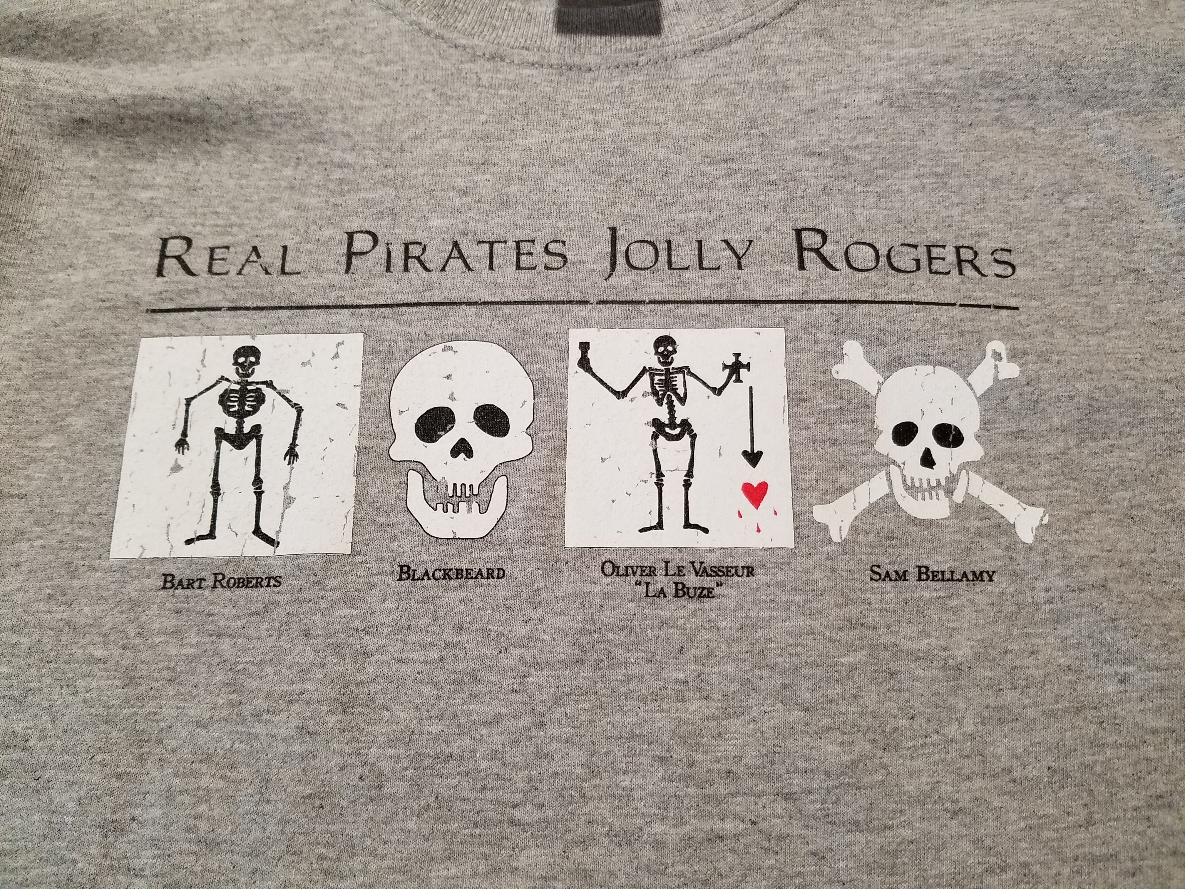 Jolly Roger T-shirt Youth C48S4SBXX57R2