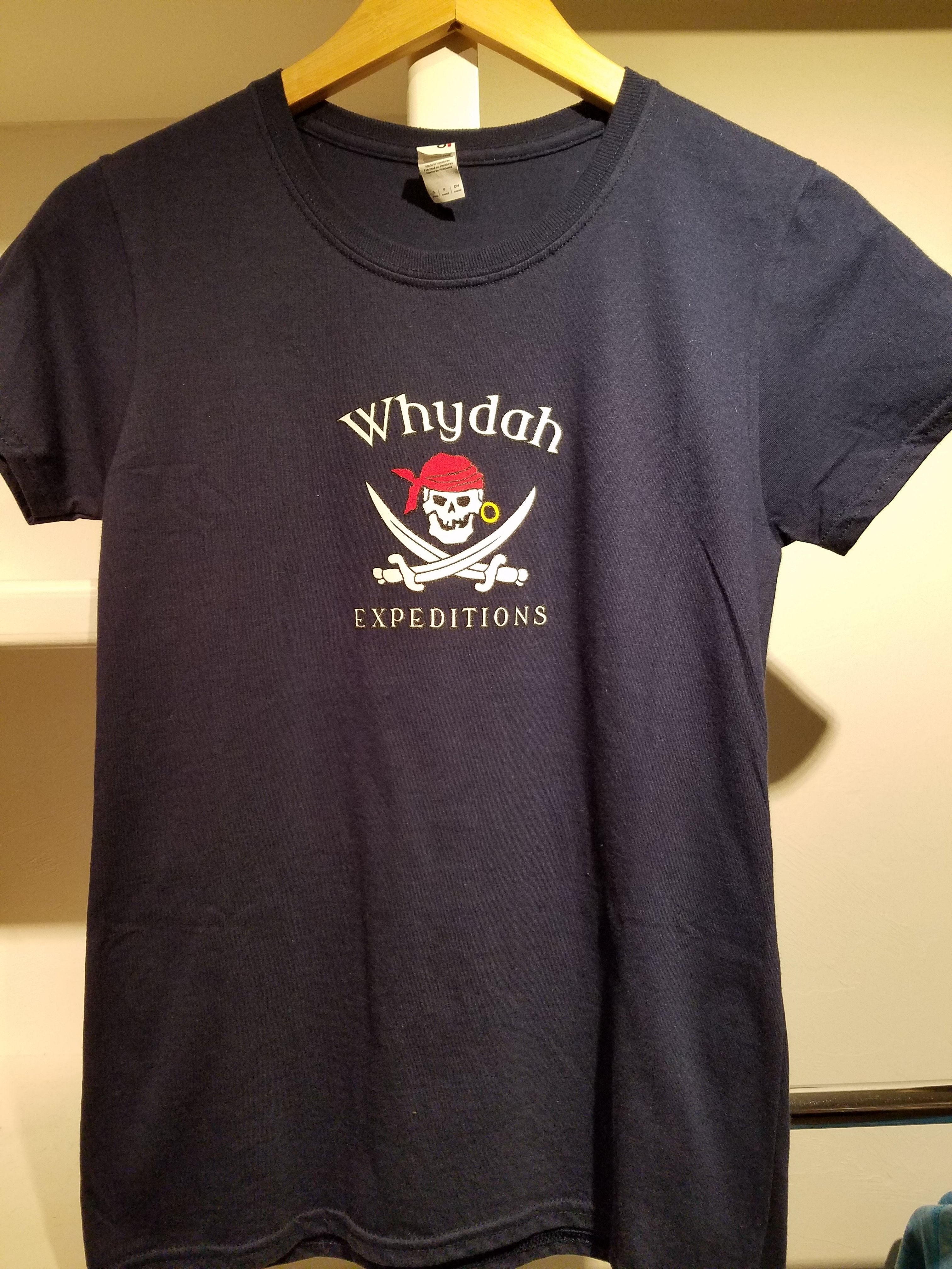 Navy Whydah Expedition  T-shirt Ladies D5N5MBD83DMJW