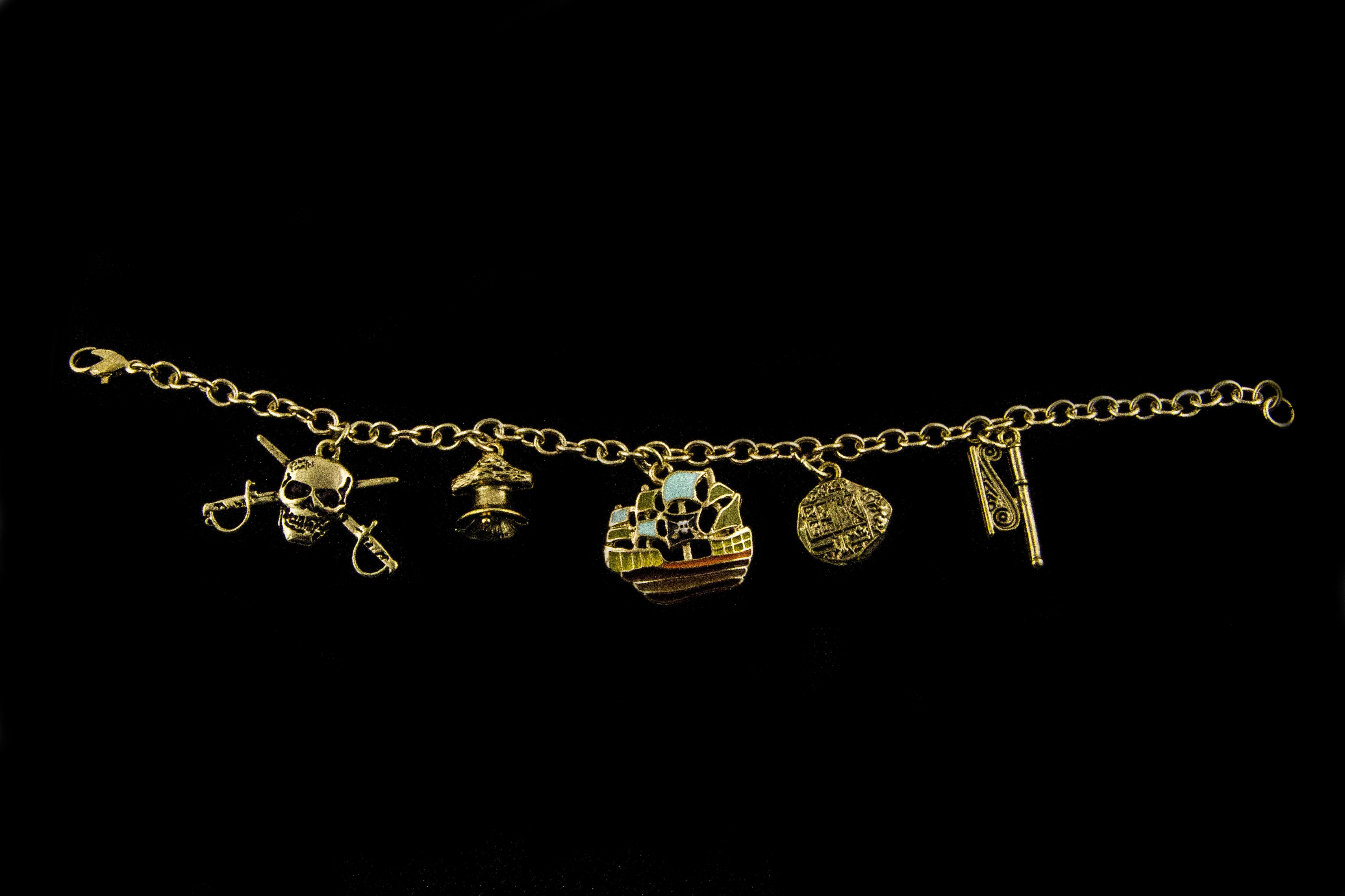 5 piece Charm Bracelet 00005