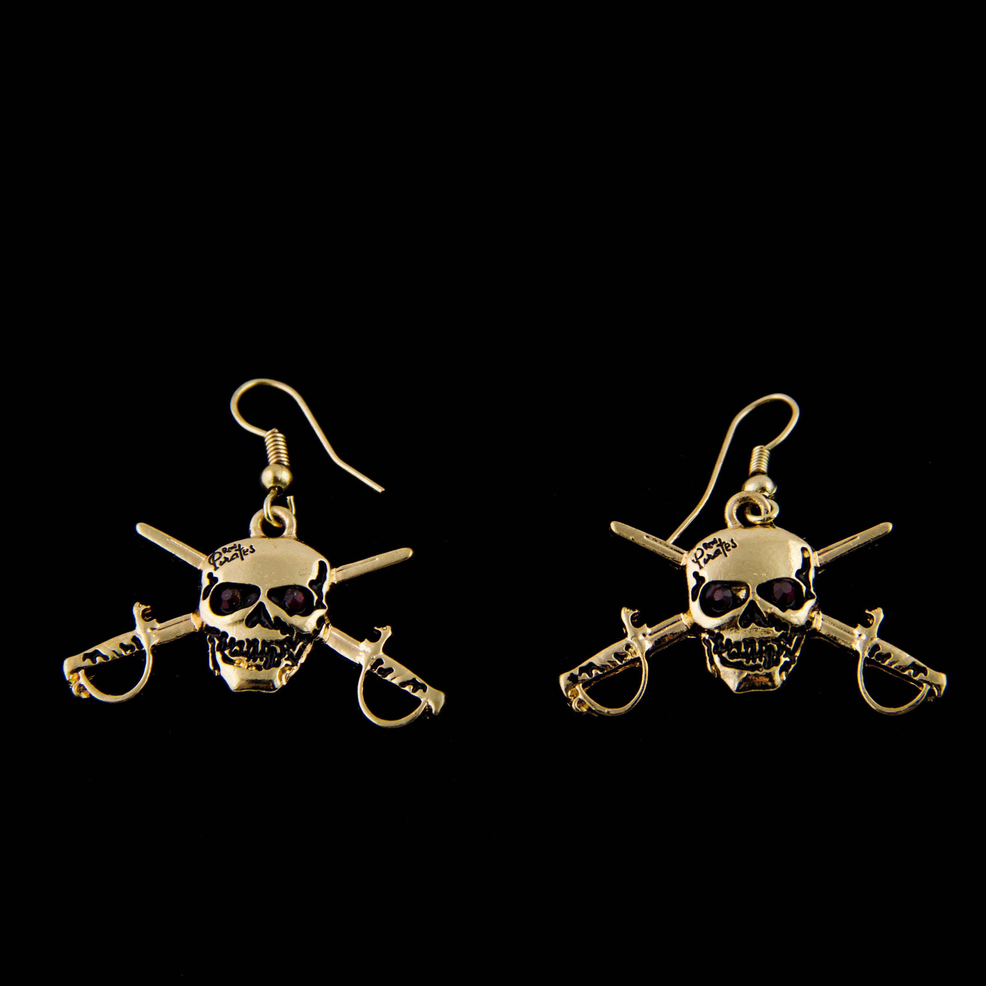 Jolly Roger Earrings 00006