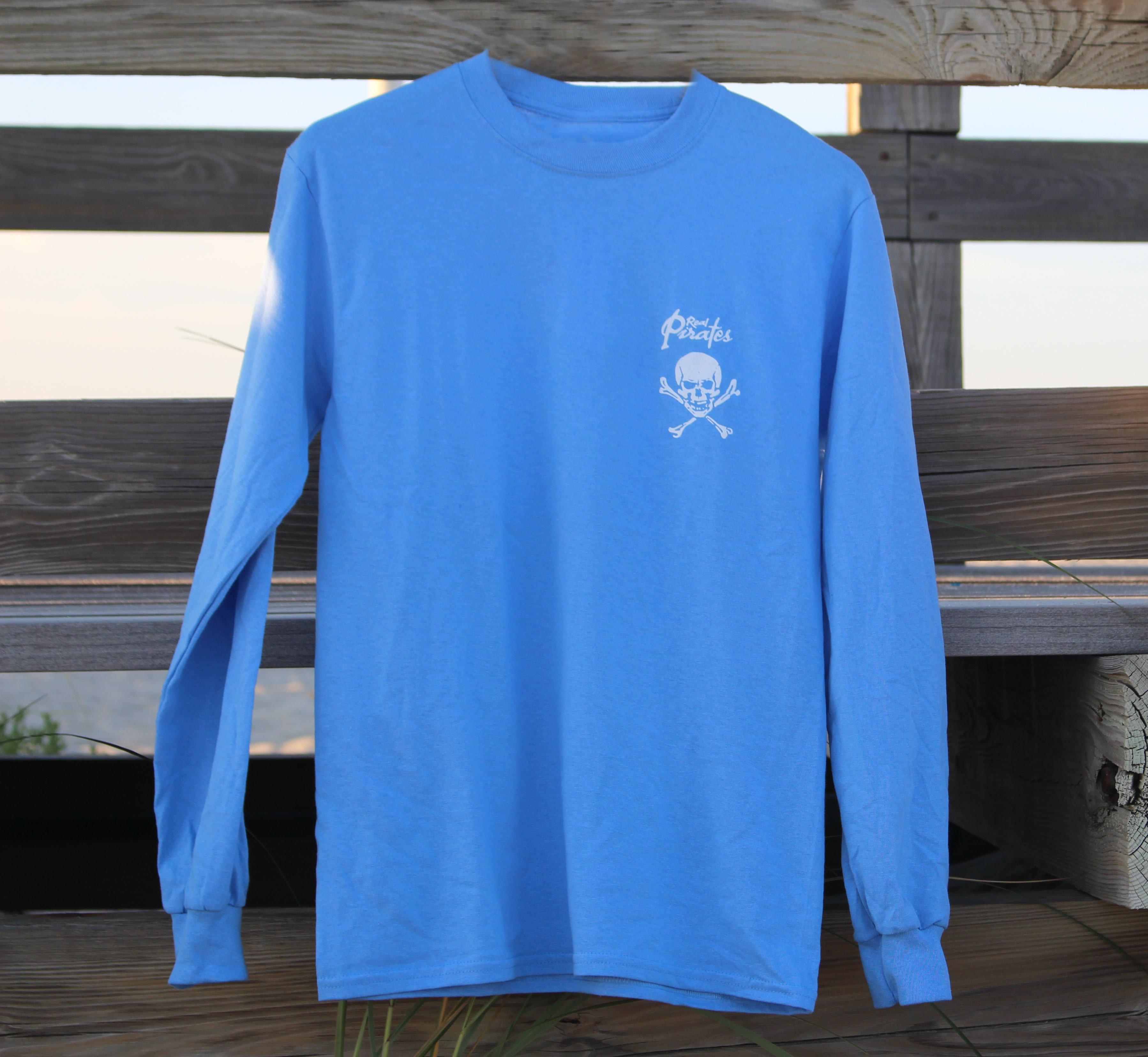 Adult Long Sleeve Shirt  Carolina Blue 00009