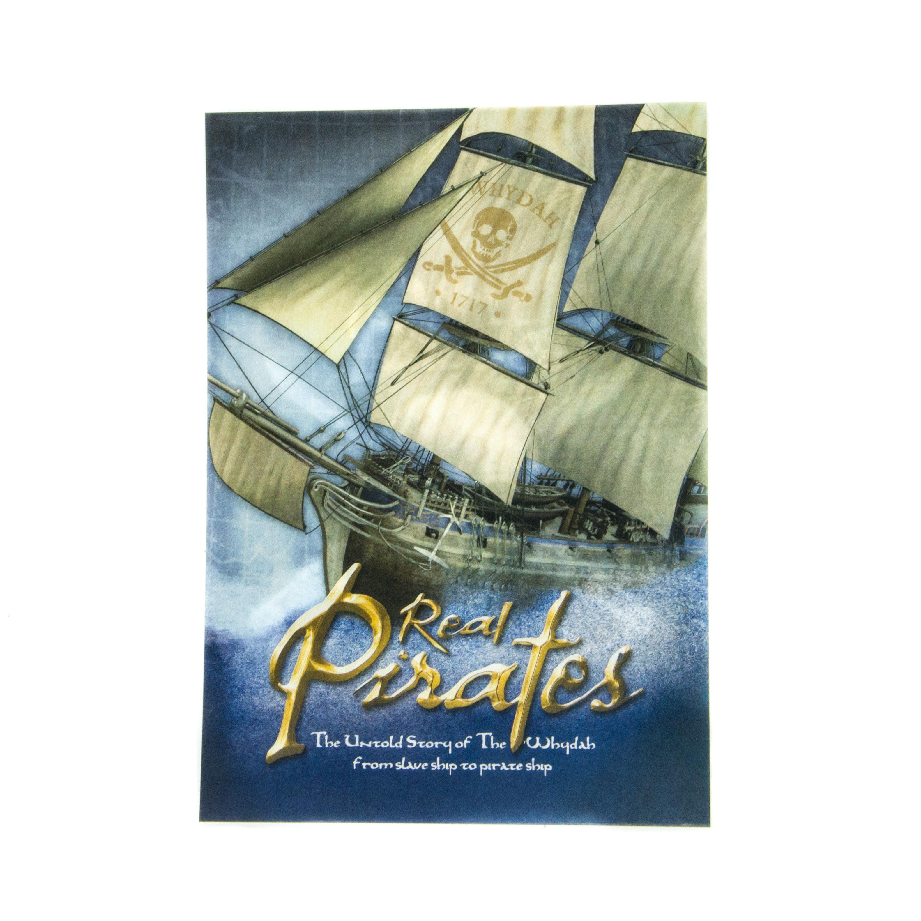 Real Pirates Lenticular Postcard